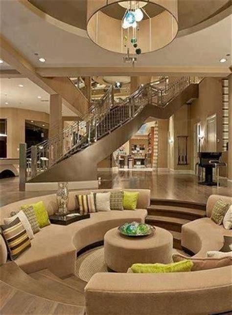 sunken living rooms step  conversation pits ideas