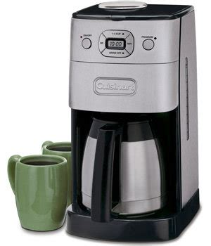 Amazon.com   Cuisinart DGB 650BC Grind and Brew Thermal 10 Cup Automatic Coffeemaker, Brushed