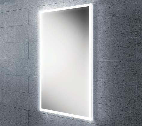 hib globe 45 steam free led mirror with ambient lighting 450x800mm 78400000