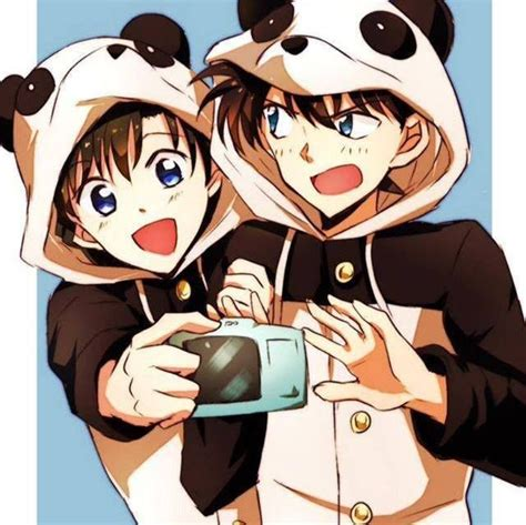 Ran Mori And Shinichi  Detective Conan Pinterest