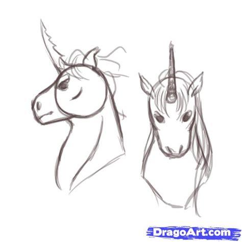 Unicorn Head Drawings Ecosia