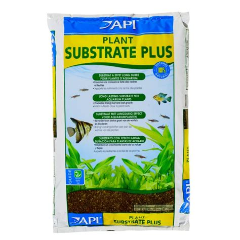 api plant substrate plus sol nutritif pour plantes d aquarium