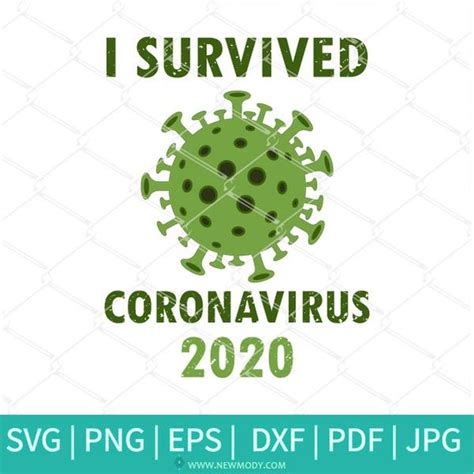 Available in png, svg (scalable file format) and iconjar. I Survived Coronavirus 2020 - Corona Virus SVG