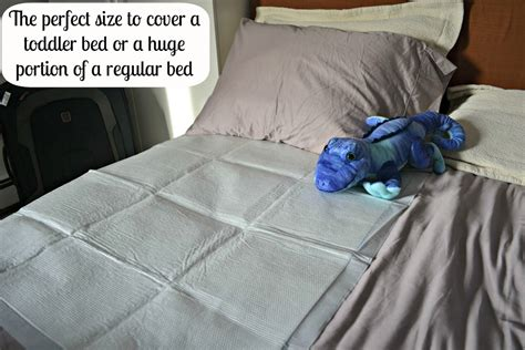 Goodnites Bed Mats by Travel Genius Goodnites Disposable Bed Mats Hello Splendid