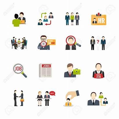 Recruitment Vector Icons Recruiting Clipart Illustration Jobs