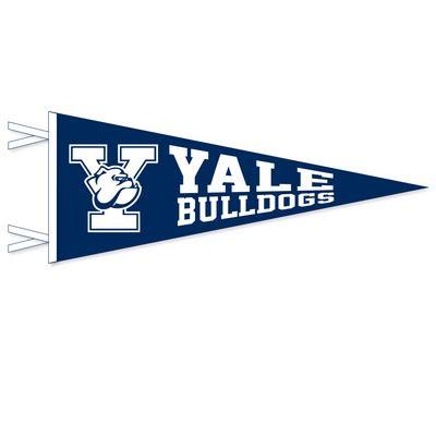 yale colors the yale bookstore yale bulldogs multi color logo