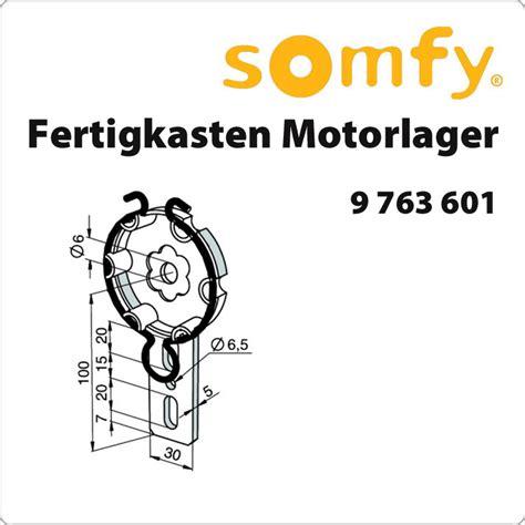sowero sonnensegel somfy antriebslager für fertigkasten 9763601 für 8 54