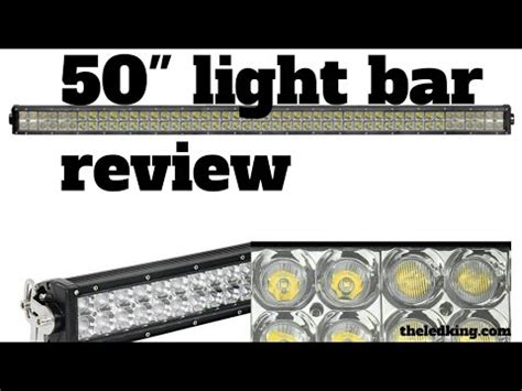 ebay 50 inch led light bar review