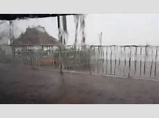 Live Footage From Hurricane Hermine at Madeira Beach Tampa