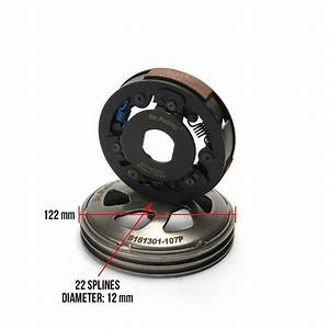 High Performance Qmb139 Clutch By Dr  Pulley Scooterworks Usa