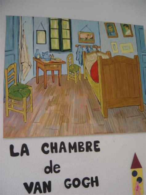 analyse du tableau la chambre de gogh aperçu du travail autour de différents peintres le