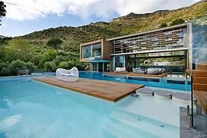 maison design avec piscine With maison design avec piscine