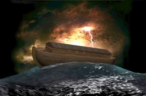 Ark Boat Irrigation by Noah S Three Versions Of The Flood Deluge 13 000