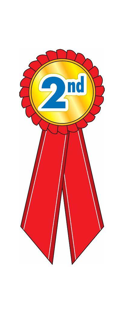 Second 2nd Clipart Place 1st Ribbon Trophy