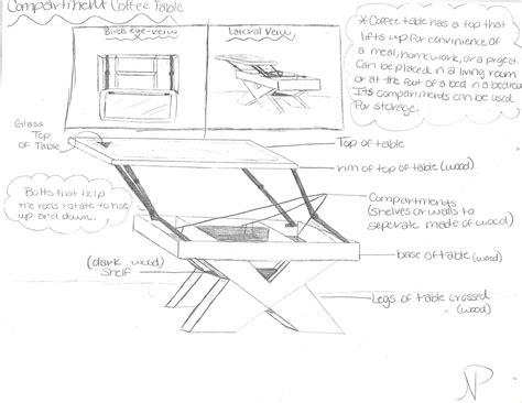 Coffee Table Sketches Rascalartsnyc
