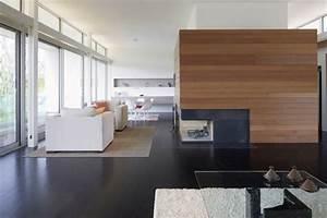 Cheminée Bois Design : chemin e moderne design pour une ambiance luxueuse ~ Premium-room.com Idées de Décoration