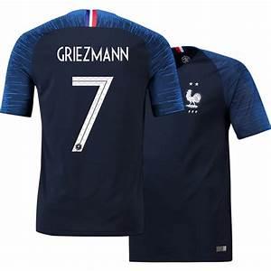 Maillot Griezmann France : no 7 griezmann maillot france domicile champion 2018 fr ~ Melissatoandfro.com Idées de Décoration