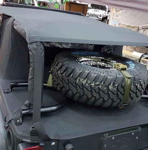 spider tire rack jk  doors suntop