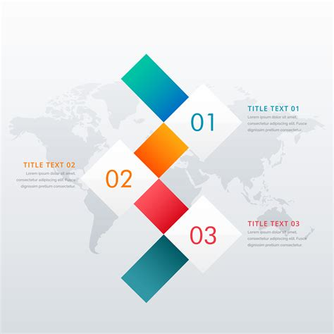 creative  steps infographic design template