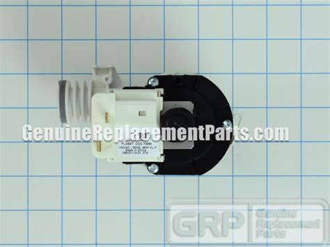 ge part wdx drain pump assembly oem