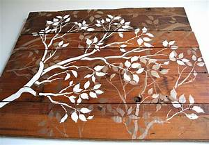 Remodelaholic diy art project branches wall guest