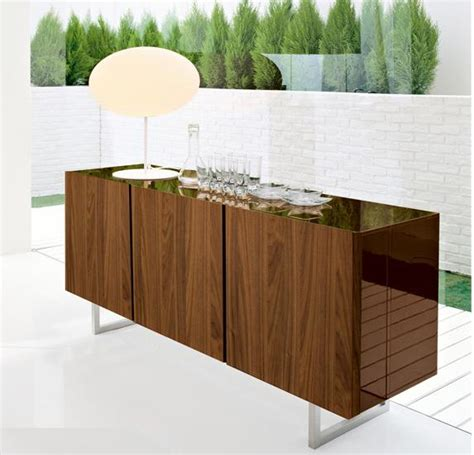 Calligaris Seattle Sideboard by Seattle 3 Door Buffet By Calligaris