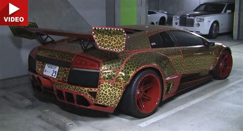 Lamborghini Tuning Doesn't Get Any Crazier Than In Japan
