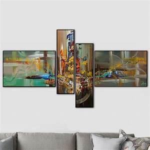 tableau 4 panneaux avec mouvement en v With meuble sous lavabo avec pied 15 tableau trois panneaux fleurs