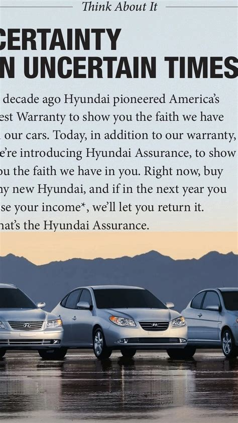Hyundai Assurance Program by Hyundai Offers Unprecedented Walkaway Vehicle Return Program