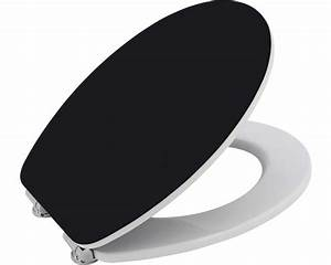 Wc Sitz Schwarz : wc sitz form style color edge schwarz wei bei hornbach kaufen ~ Watch28wear.com Haus und Dekorationen