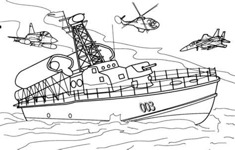 disegno  nave da guerra da colorare disegni da