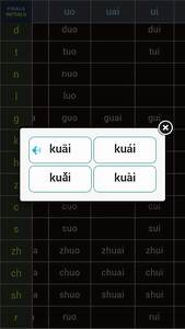 Pinyin Table - Android Apps on Google Play