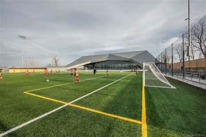 Chauveau soccer stadium education sports and leisure stade for Chauveau soccer stadium education sports and leisure