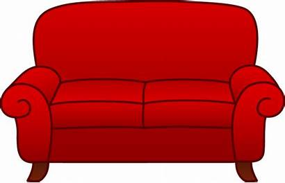 Clipart Bed Sofa Drawing Couch Cartoon Clip