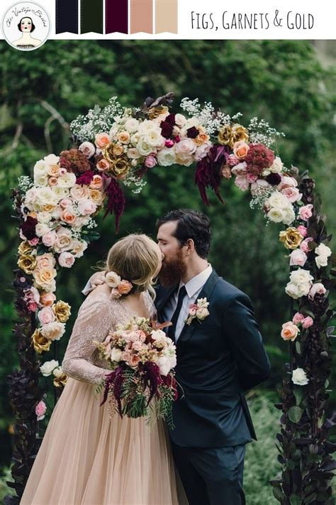 Figs Garnets And Gold An Autumn Wedding Inspiration Board