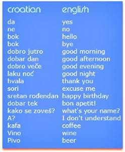 Opinions on Cro... Serbo Croatian Quotes