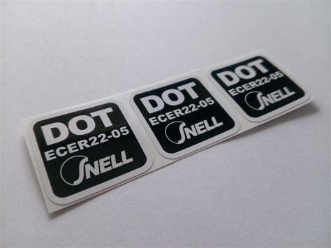 3 X Dot Ece 2205 Snell Sticker Aufkleber Etikett Etichetta