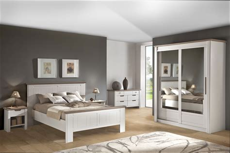 Chambre Deco  Idee Deco Chambre Adulte Meuble Blanc