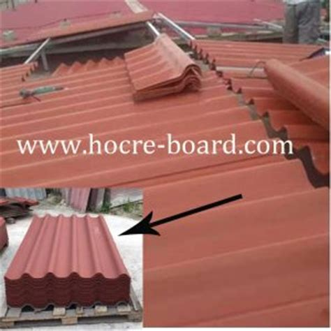 profile big  fiber cement corrugated roofing sheet