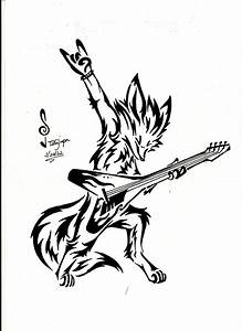 Fox Tribal : Rock and Roll by Tatujapa on DeviantArt