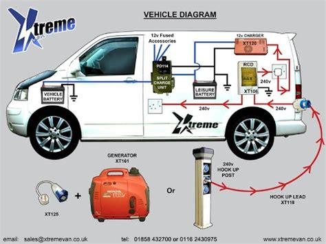 the split charge leisure battery system in our vw t4 youtube