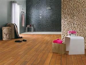 parquet pour salle d eau finest parquet stratifi effet With parquet salle d eau