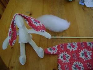 Doudou En Tissu à Faire Soi Même : comment faire un doudou lapin en tissu visuel 8 ~ Nature-et-papiers.com Idées de Décoration
