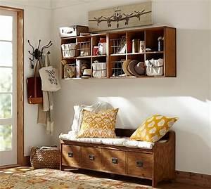 Banc Rangement Entrée : meuble entree avec rangement chaussures ~ Teatrodelosmanantiales.com Idées de Décoration
