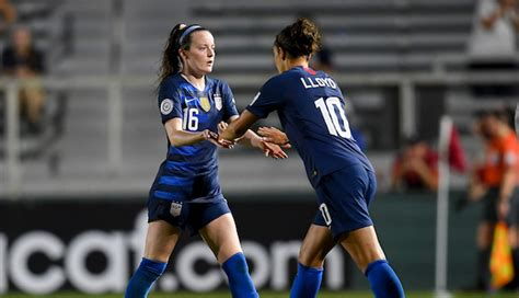 mallory pugh rose lavelle earn caps   wnt routs