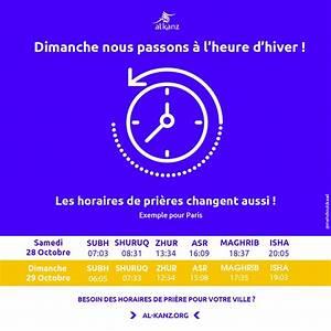 Heure De Priere A Marseille : passage l 39 heure d 39 hiver et aux heures de pri re d 39 hiver ~ Medecine-chirurgie-esthetiques.com Avis de Voitures