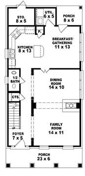 house plans for narrow lots 653584 2 traditional plan for a narrow lot house plans floor plans home