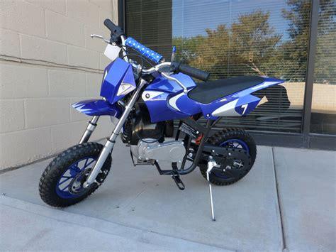 pocket bike shop brand new high performance 4 stroke 40cc blue mini dirt bike new in stock ebay