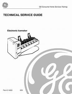 Ge Electronic Ice Maker Service Manual