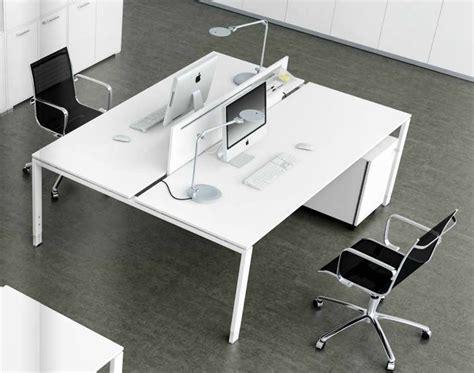 bureau des postes benchs bralco 2 postes sans cloison adopte un bureau